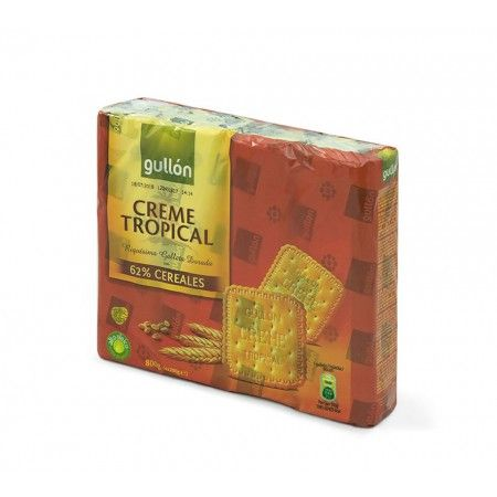 Galleta Creme Tropical Gullón 800 gr
